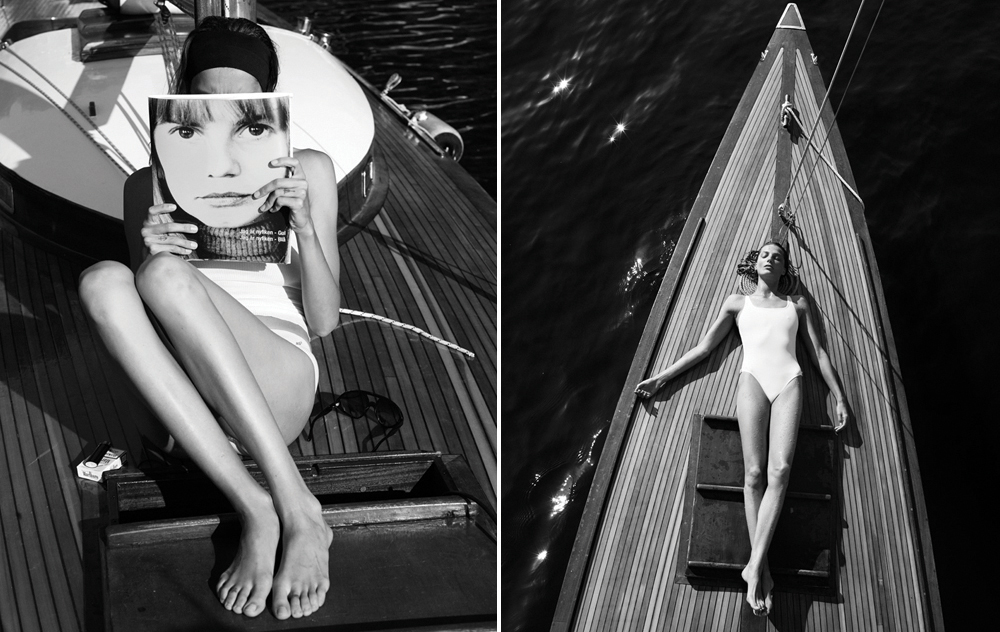 Beautiful editorial of   Daria Werbowy,   shot by Mikael Jansson for Interview Magazine.