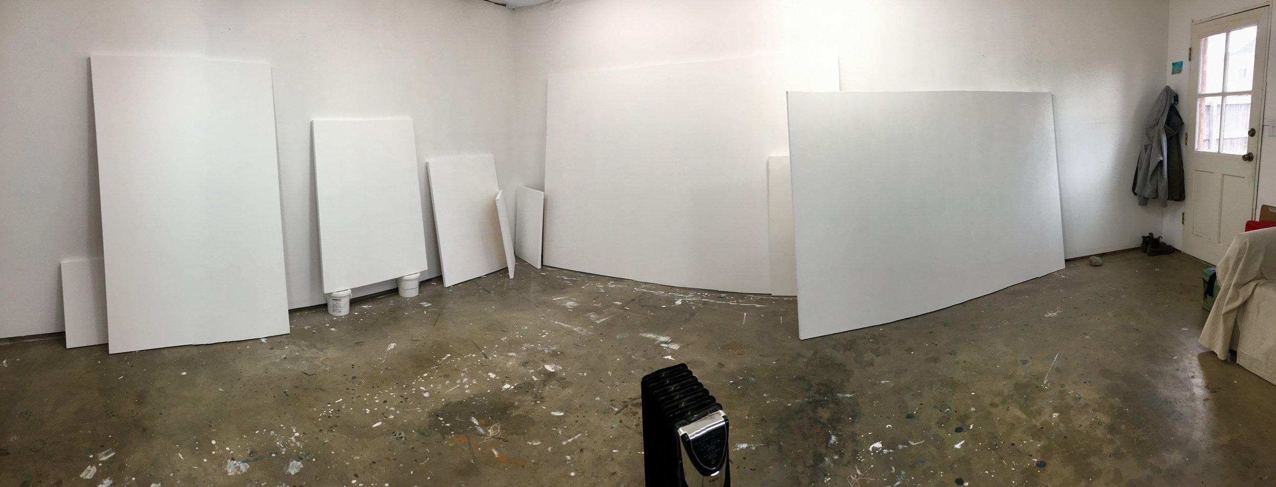 studio, January 2018