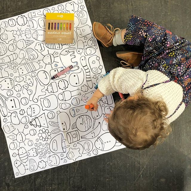 Live action @renegadecraft! 39 minutes left to make your Saturday fantastic! Coloring by my wonderful booth partners little one :) @dearest.kjaere (link in profile OR thatsgoodpaper.etsy.com) . . . . . #product #moderndesign #birthday #designing #designs #giftbags #present #designers #prototype #instadesign #birthdaypresent #innovation #toys  #designer #graphics #pencil #illustrator #decoration #logo #vector #graphic #californialove #jj_california #californiadreaming #californiaholics #californiacoast #cali  #thatsgoodpaper