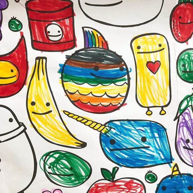 X-large coloring pages! Markers, pencils, crayons, paint! Use whatever you like... This one was done by one of my favorite five year old friends. Thanks Skyla! 😘👋🎨 (link in profile OR thatsgoodpaper.etsy.com) . . . . . #product #moderndesign #coloring #designing #designs #giftbags #present #designers #markers #instadesign #birthdaypresent #innovation #coloringbook  #designer #graphics #pencil #illustrator #decoration #logo #vector #graphic #californialove #jj_california #californiadreaming #californiaholics #californiacoast #cali  #thatsgoodpaper