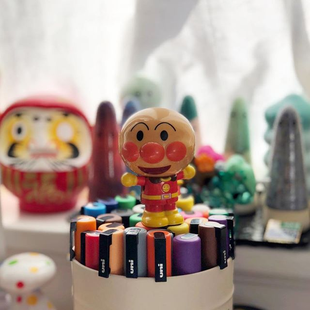 My mom gave me this #anpanman the other day. A wonderful reminder of my childhood. I'm so thrilled to have him as my coworker and constant inspiration. 🤡😘🎉 . . . . #startup #entrepreneurlife #entrepreneurs #entrepreneurlifestyle #entrepreneurship #workspace #motivational #millionairemindset #successful #millionairelifestyle #businesswoman  #contemporaryart #modern #sketch #sculpture #painting #contemporary #draw #fineart #streetart #artgallery #californialove #californiadreaming #californiaholics #californiacoast #cali  #thatsgoodpaper