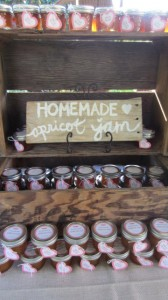 yummy apricot jam favors