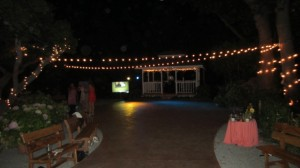 Rancho Soquel dancefloor ready for the slideshow