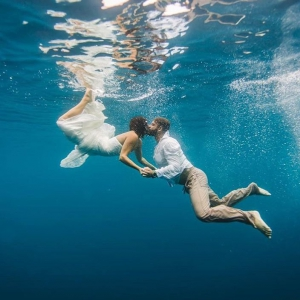 Koro Sun Underwater wedding