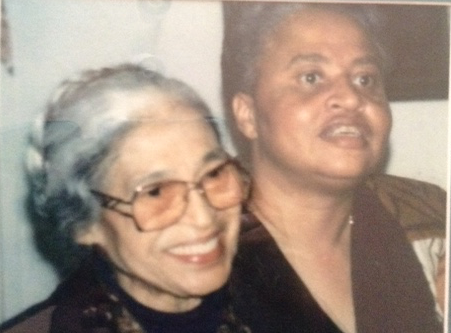MRS. PARKS AND MRS. DORIS CRENSHAW
