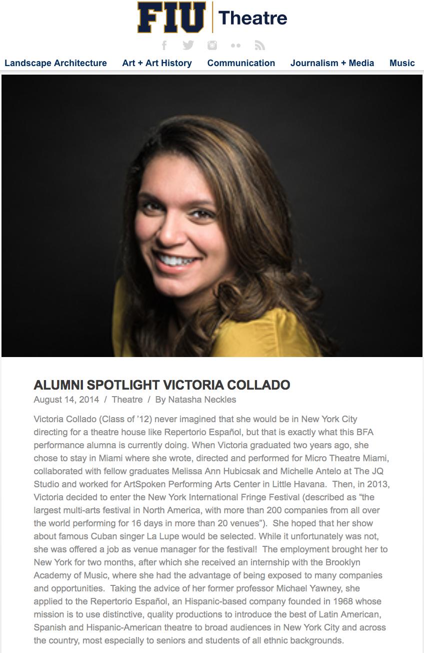alumni spotlight - florida international university