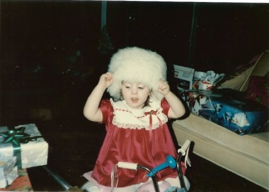 Not to toot my own horn, but I was a cute freaking kid!