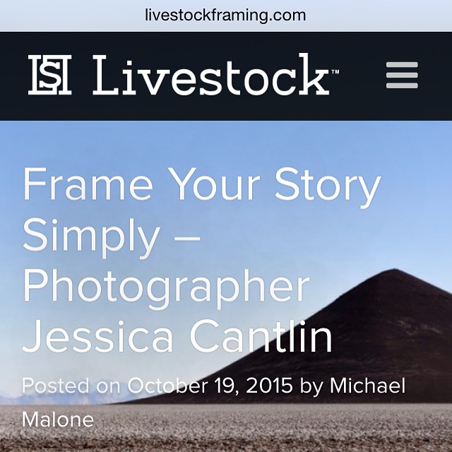 Jessica Cantlin interviewed by Livestock Framing / www.feedmywanderlust.com / (C) Jessica Cantlin