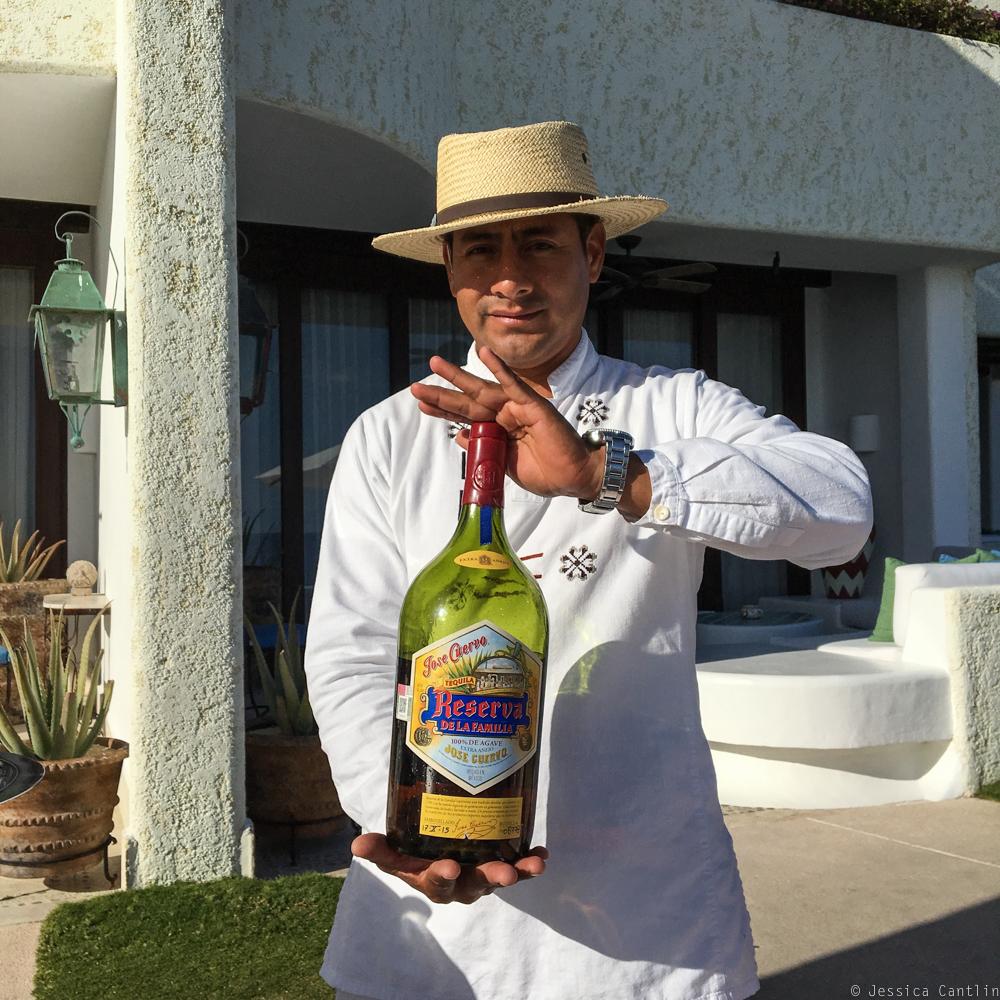 Tequila Tasting at Las Ventanas