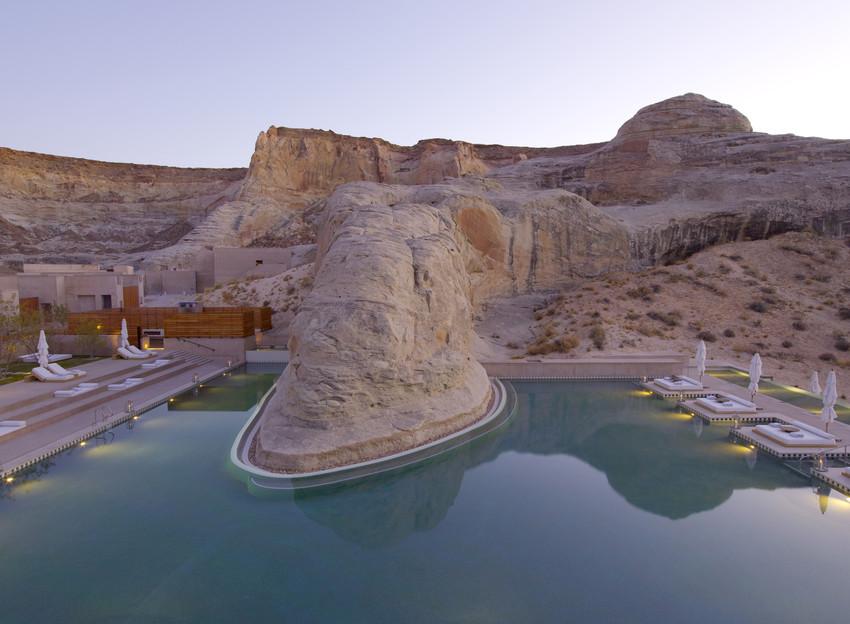 Pool at Amangiri (Photo Courtesy of Aman Resorts).