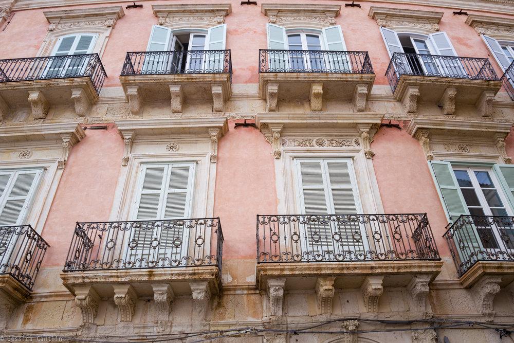 Facade in Ortigia