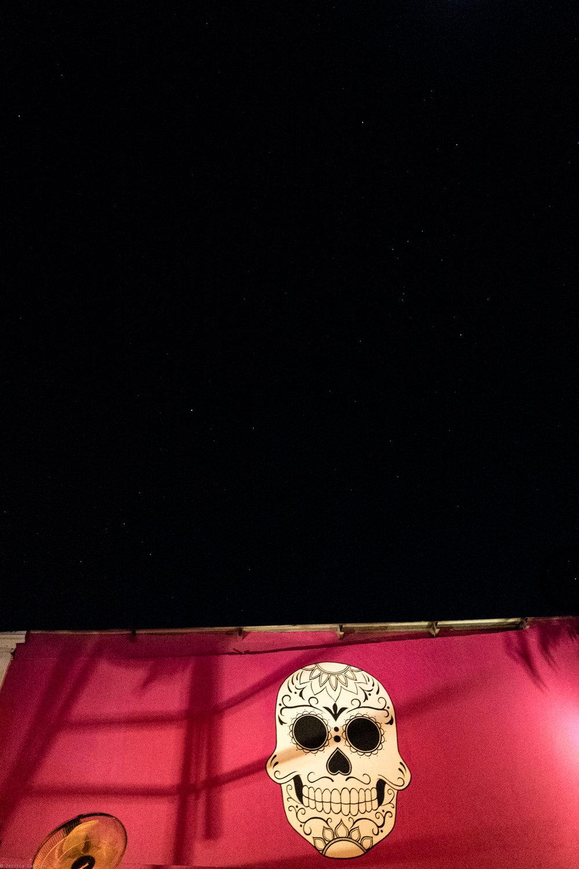 Under the stars at La Lupita