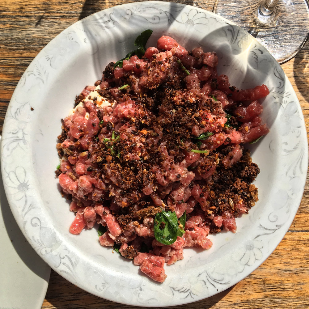 Tartare at Manfred's