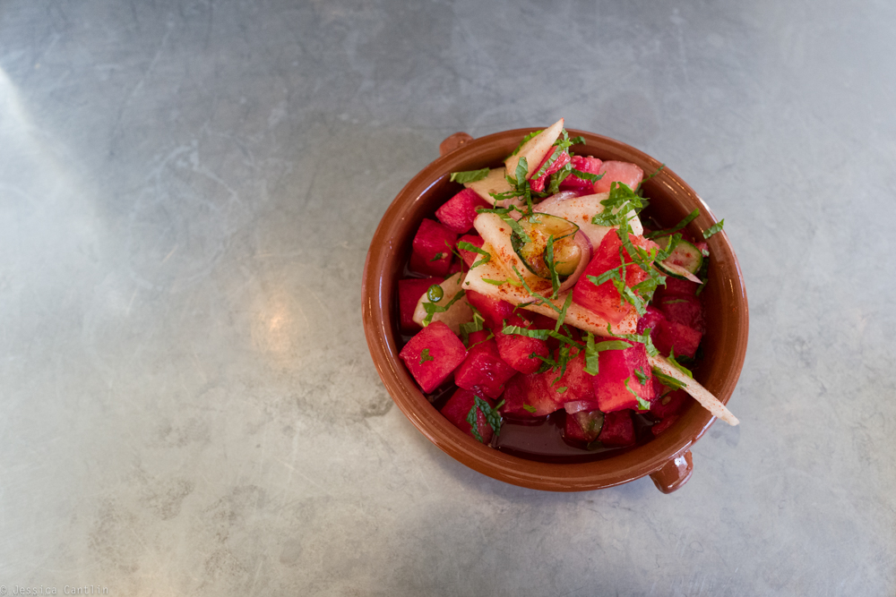 Watermelon Salad at Copal