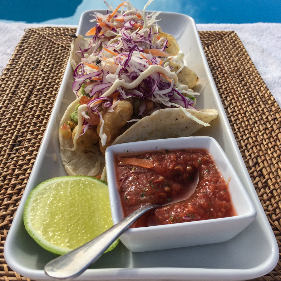 Fish Tacos at Rancho Pescadero