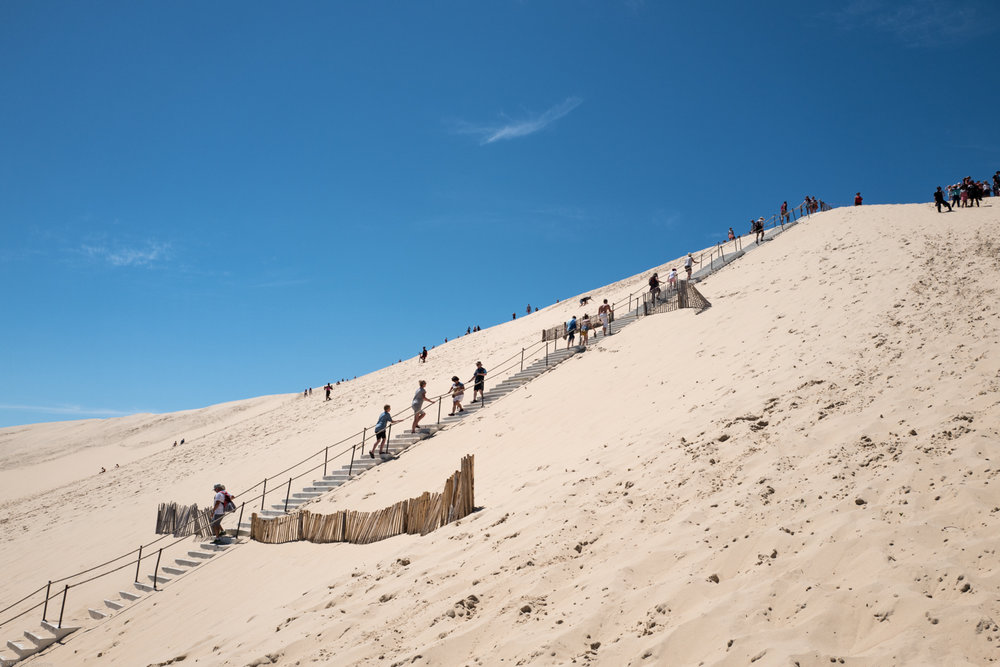 Hiking the Dune du Pilat