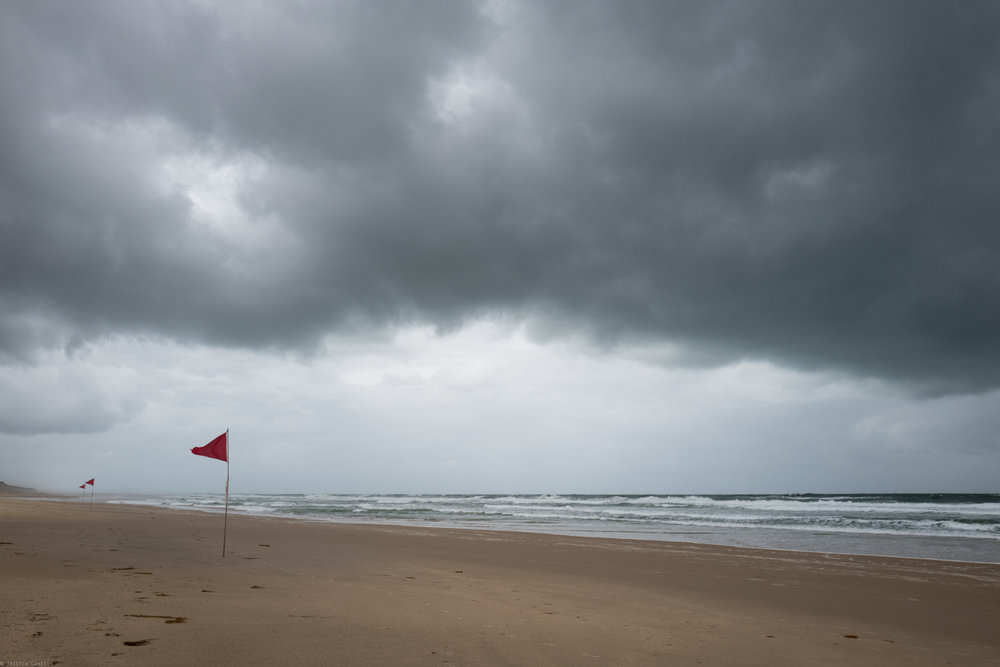 Stormy Skies at Hourtin Plage