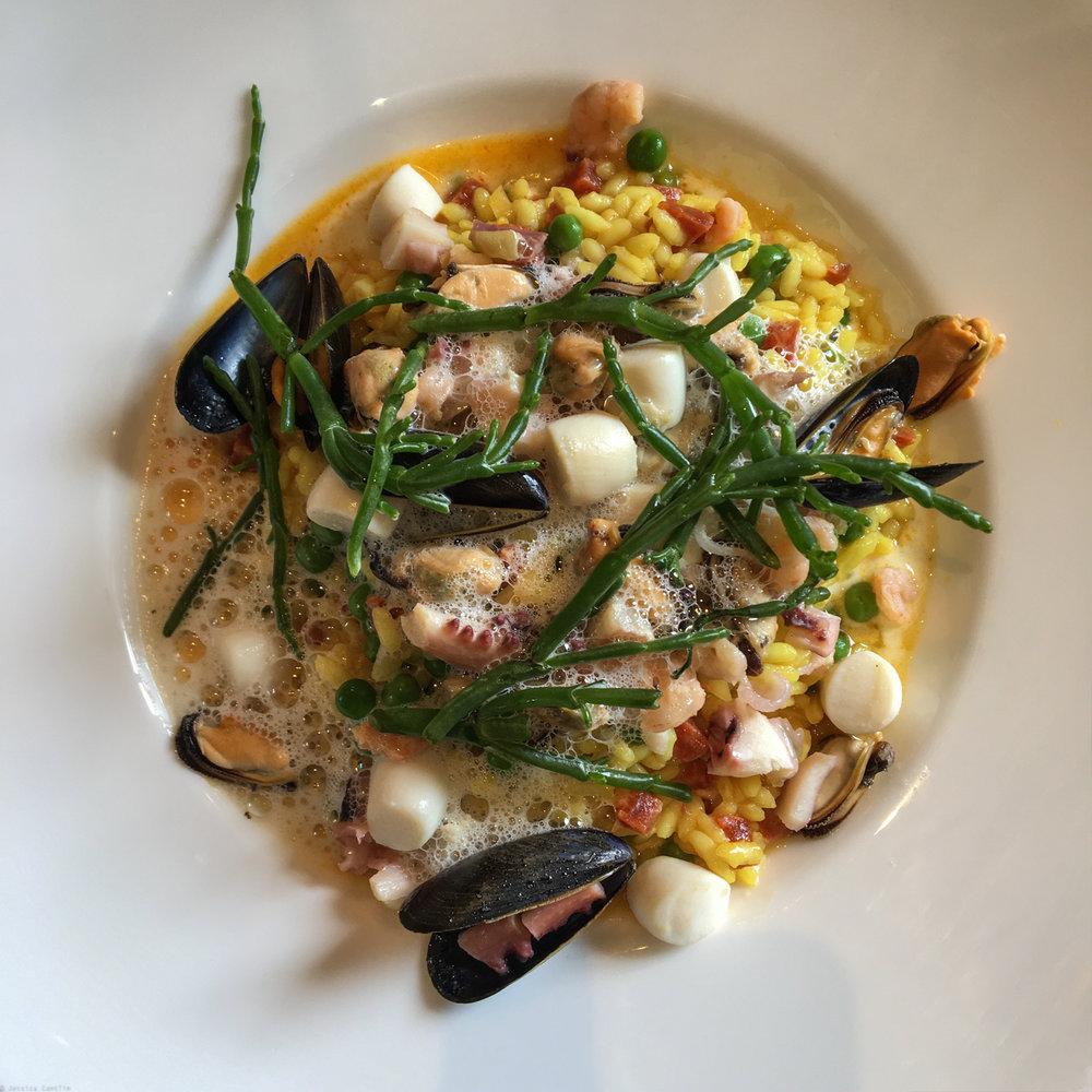 Seafood Paella at Café  Lavinal