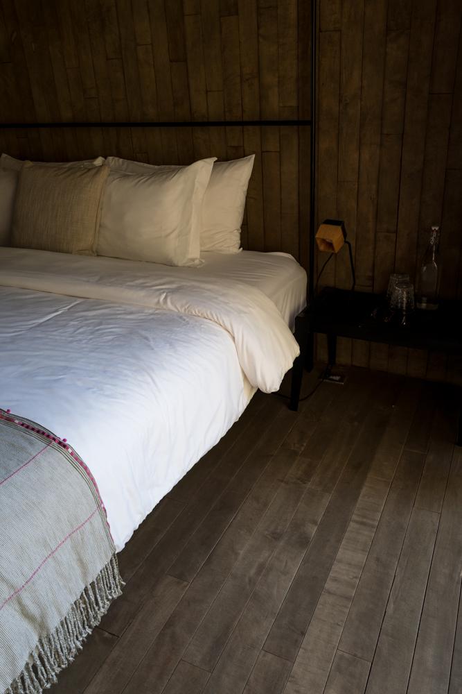 A guestroom at Bruma.