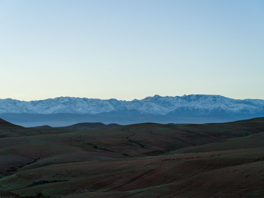 Atlas Mountains at Dawn