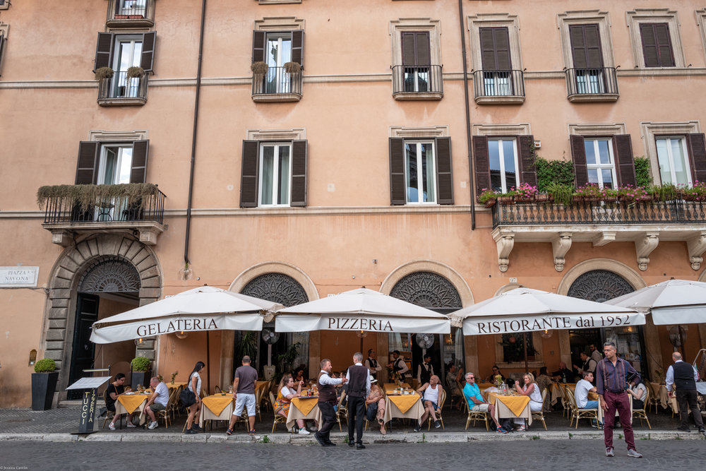 Cafes of Piazza Navona
