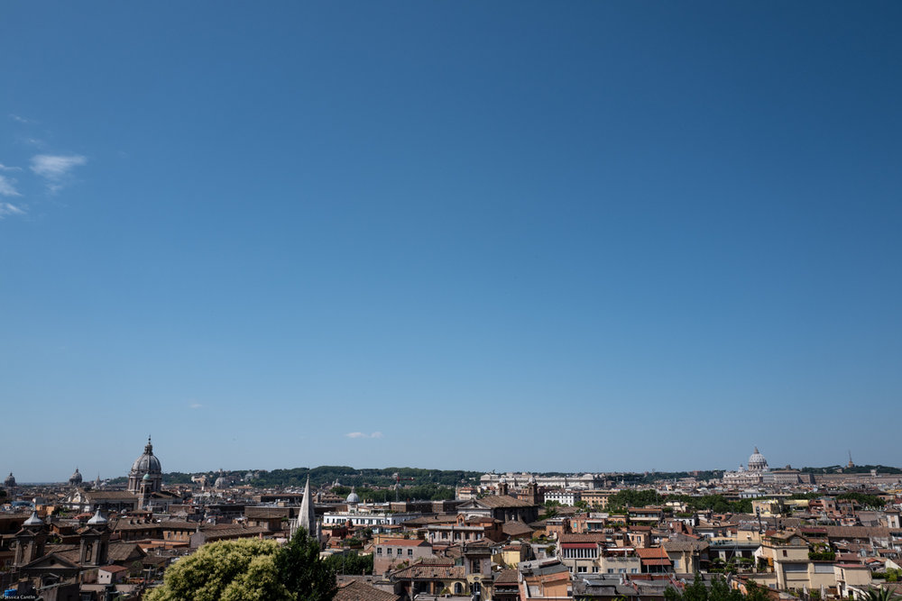 Rome from Villa Borghese