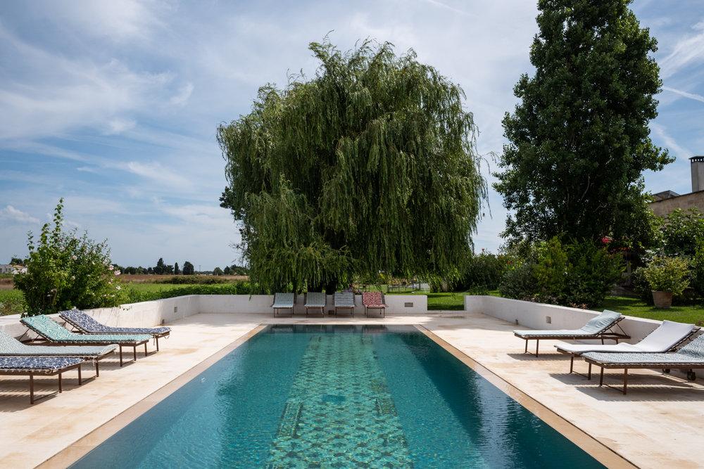 Pool Deck at Masseria Prosperi