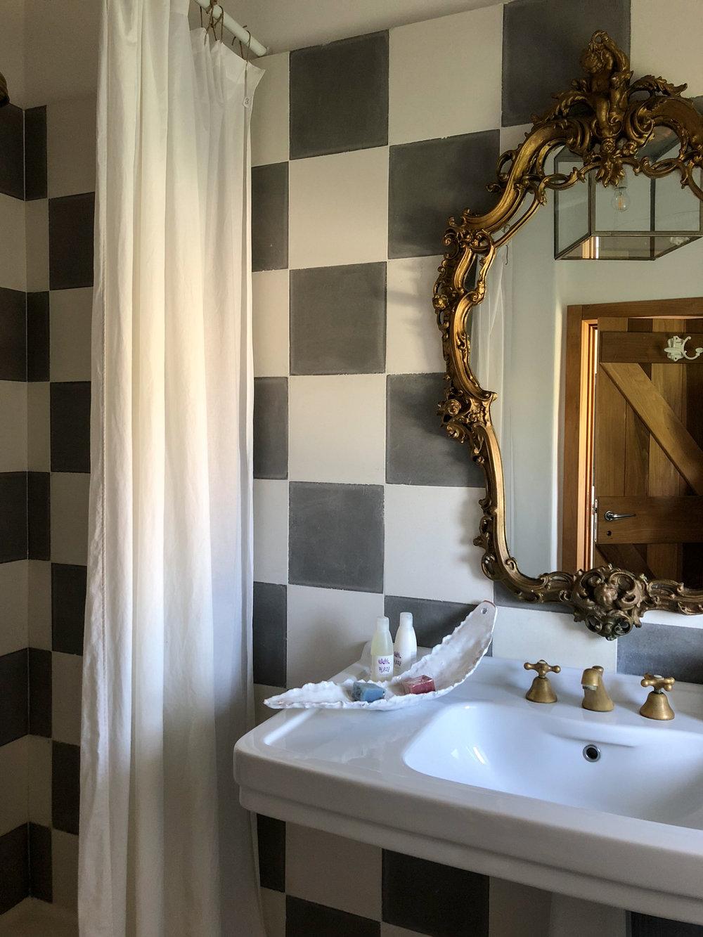 Bathroom Details at Masseria Prosperi