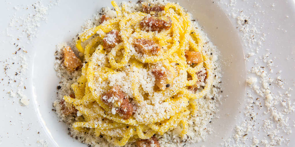 Carbonara at Roscioli (photo courtesy of the restaurant)
