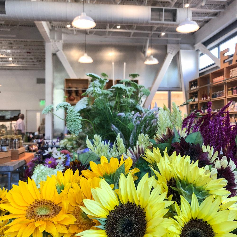 Blooms at Healdsburg SHED