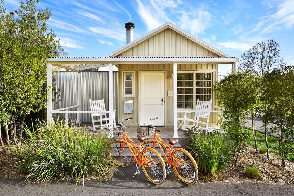 Guest Cottage at Carneros Resort and Spa  (photo courtesy of Carneros Resort and Spa)