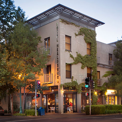 Hotel Healdsburg  (photo courtesy of Hotel Healdsburg)