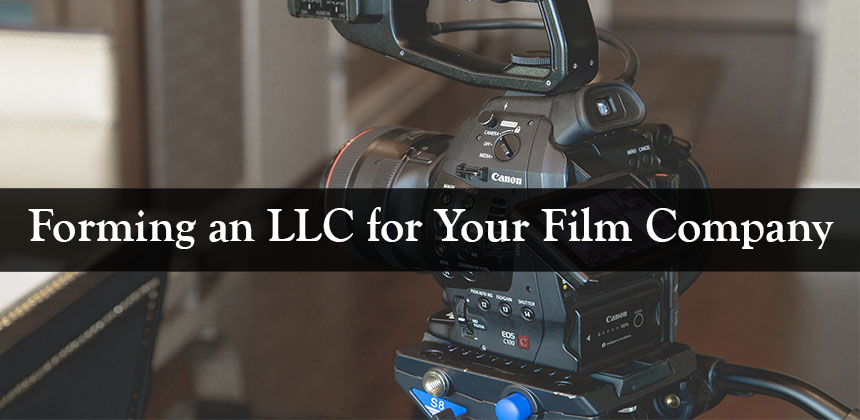 While an LLC is an excellent option for many film companies, it is not your only option. In many cases, a corporation can possibly make better sense.  Having an attorney help you flush out the different types of business entities and help you make a determination as to which one might be in your company's best interest can be quite invaluable.