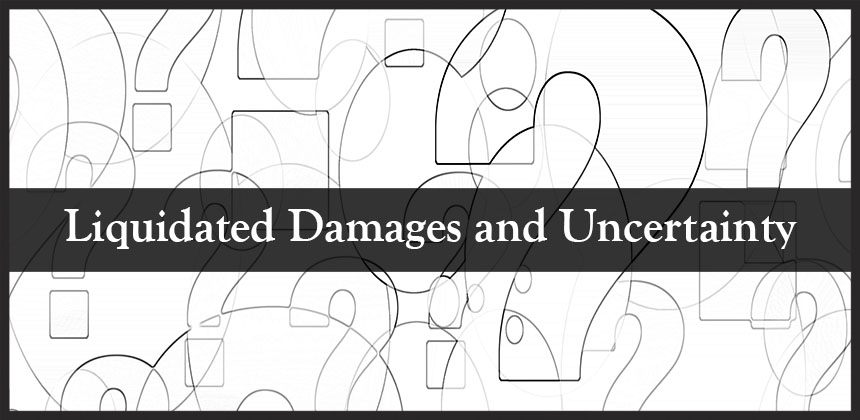 Liquidating damages clause form