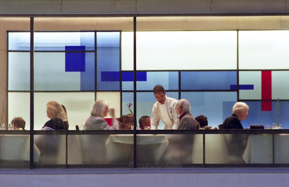 Bleu Restaurant  YGH Architecture