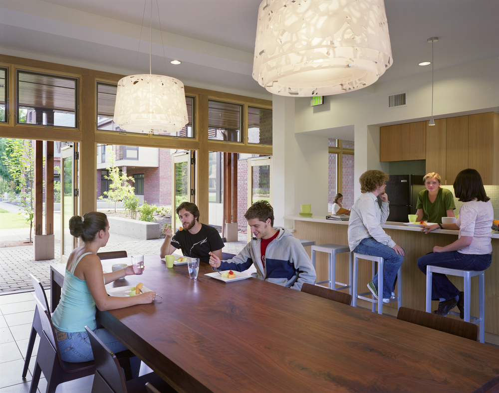 Reed College Student Dorms  ZGF