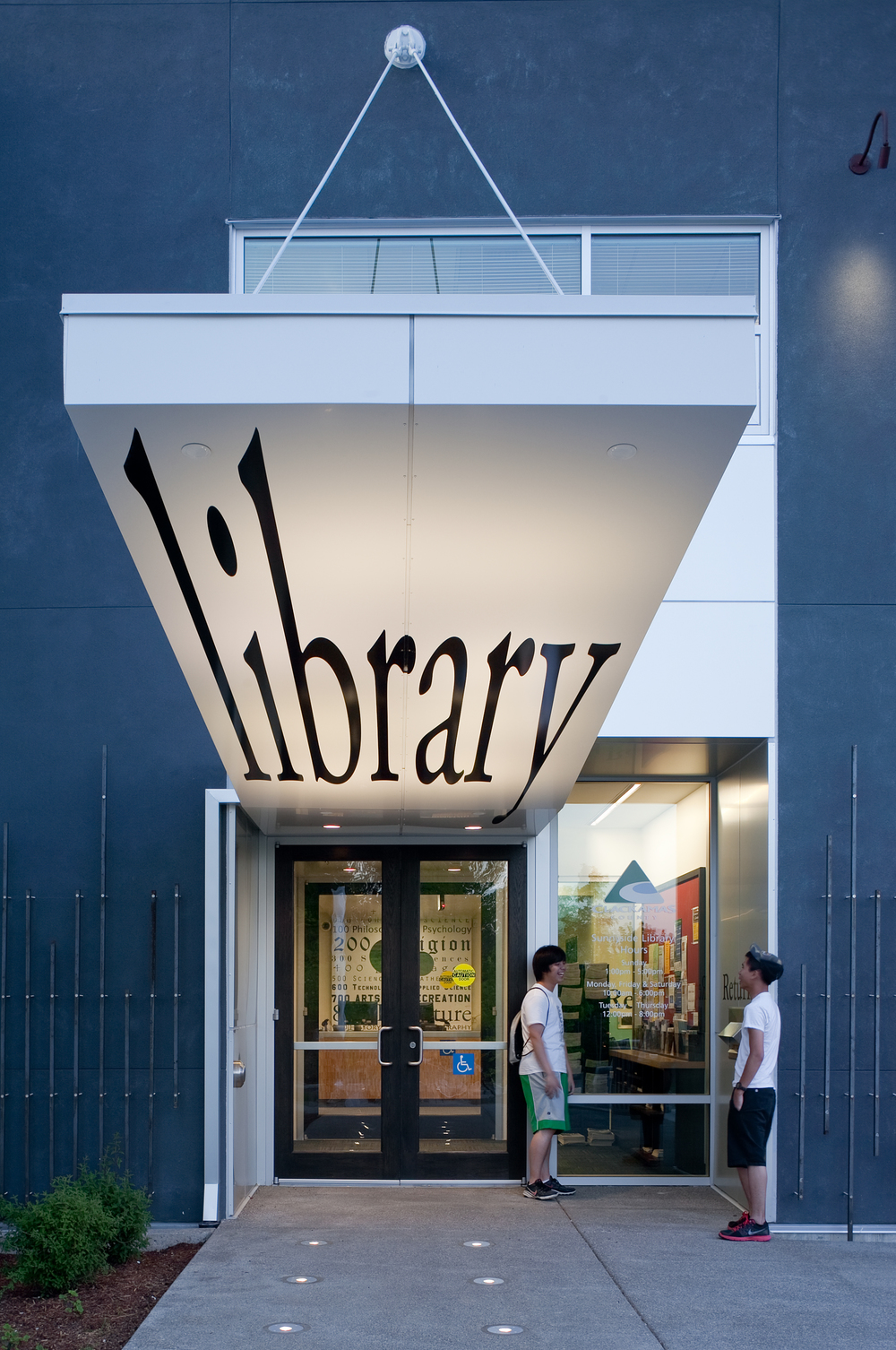 Sunnyside Library  Scott Edwards Architecture