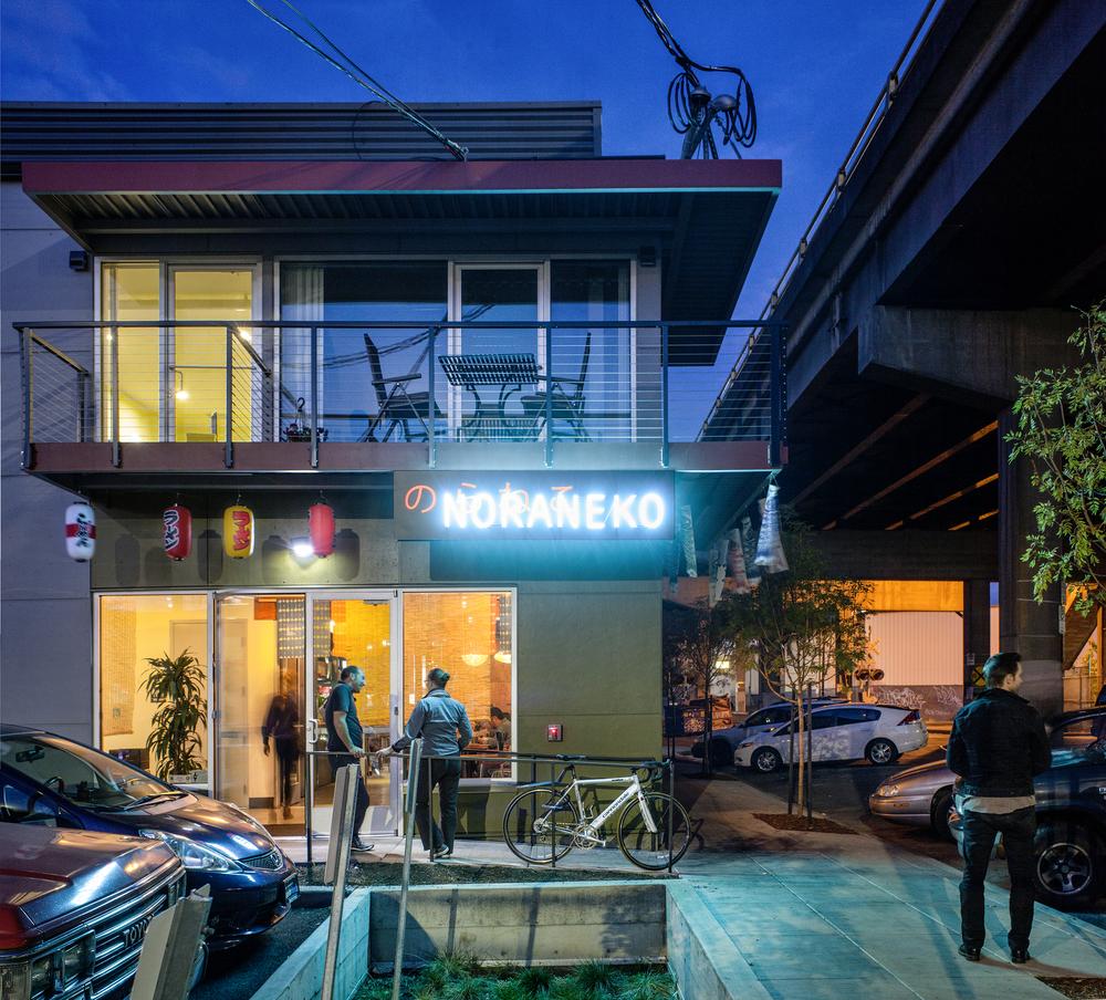 Noraneko Ramen House  Constructive Form