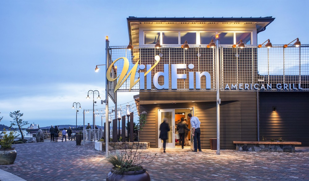 Wild Fin Restaurant  Scott Edwards Architecture