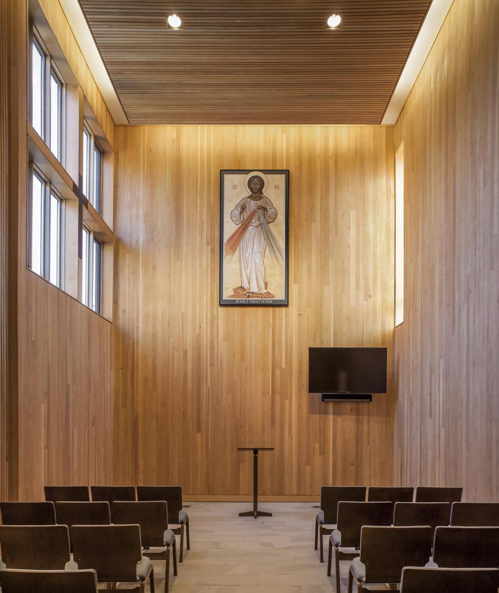 Gethsemani Chapel  DiLoreto Architecture