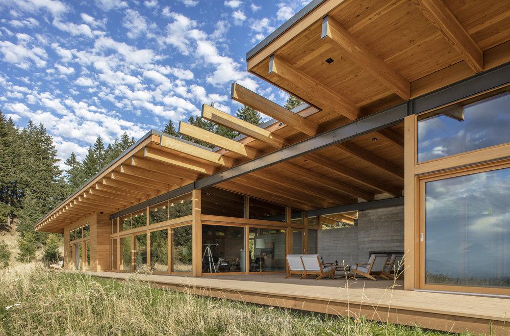 Hood River House  Scott Edwards Architecture