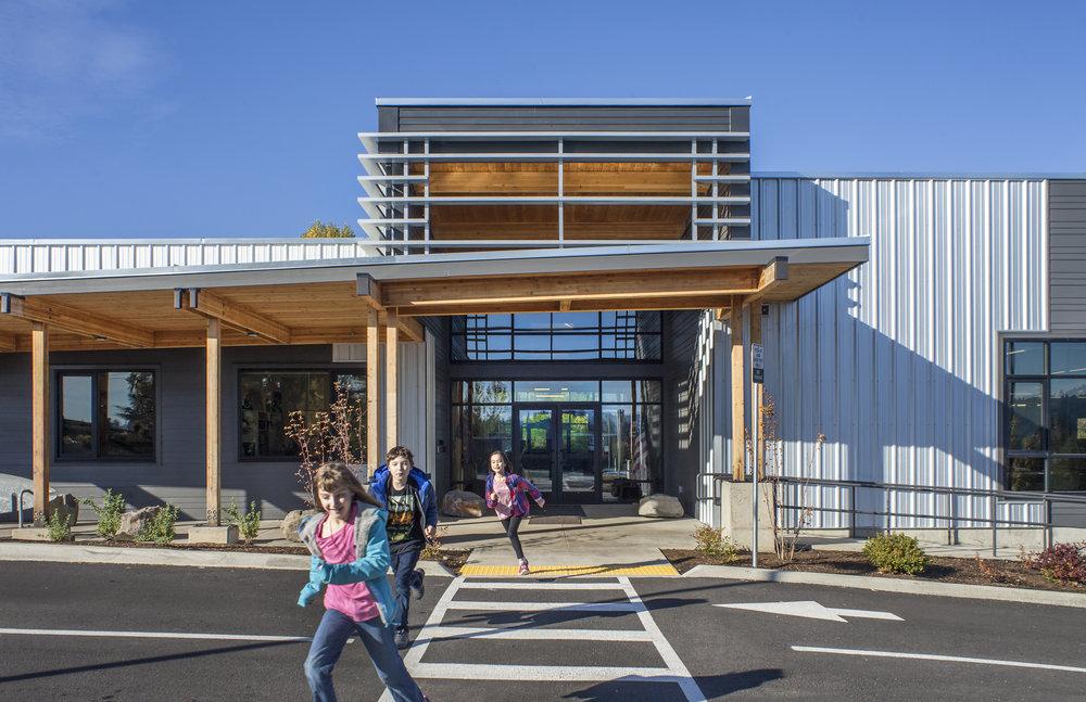 Three Rivers Charter School  Scott Edwards Architecture