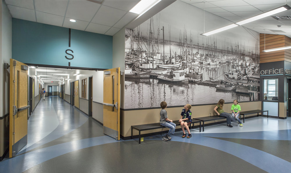Ocosta Elementary School  TCF Architecture