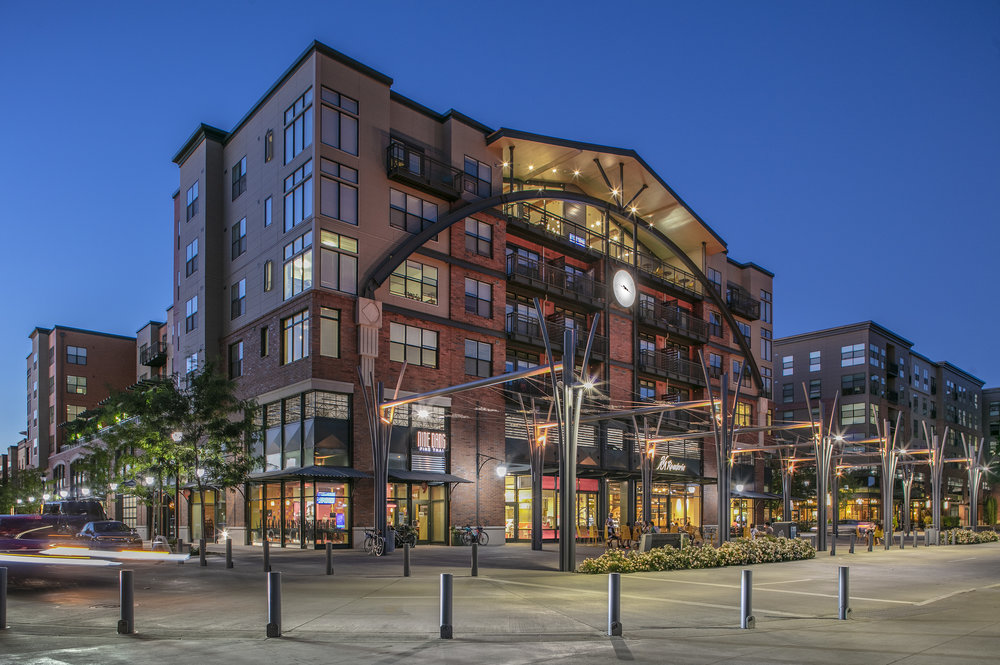 Orenco Station Mixed Use  Leeb Architects