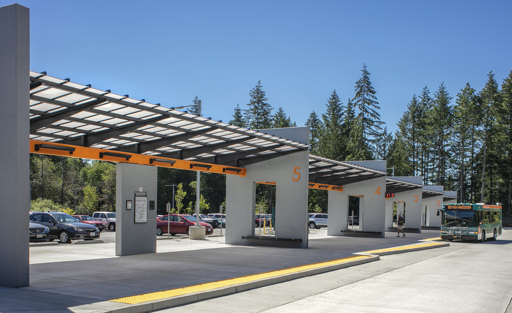 Poulsbo Transit Center  TCF Architecture