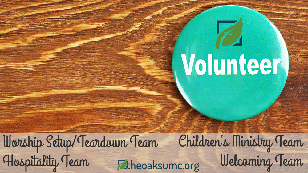 Are you looking for a fulfilling way to serve others on Sunday mornings? We are putting together teams that will serve on Sunday mornings in the areas of Worship Setup/Teardown, Children's Ministry, Hospitality (Coffee and Snacks!), and Welcoming (smiling and shaking hands!). If you're interested, let us know!