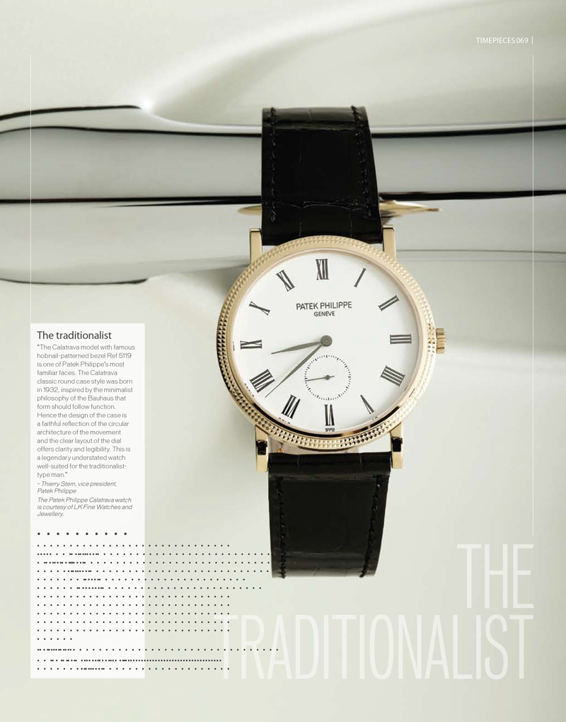 Timepieces CRYSTAL Magazine
