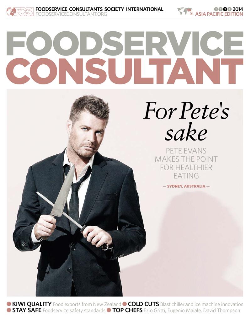 Pete Evans - Foodservice Consultant Magazine