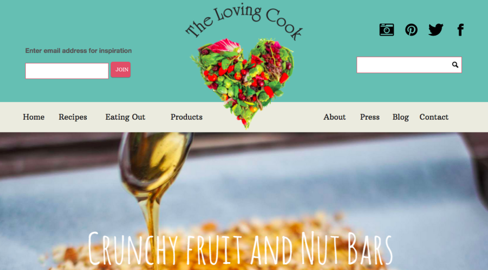The Loving Cook Website