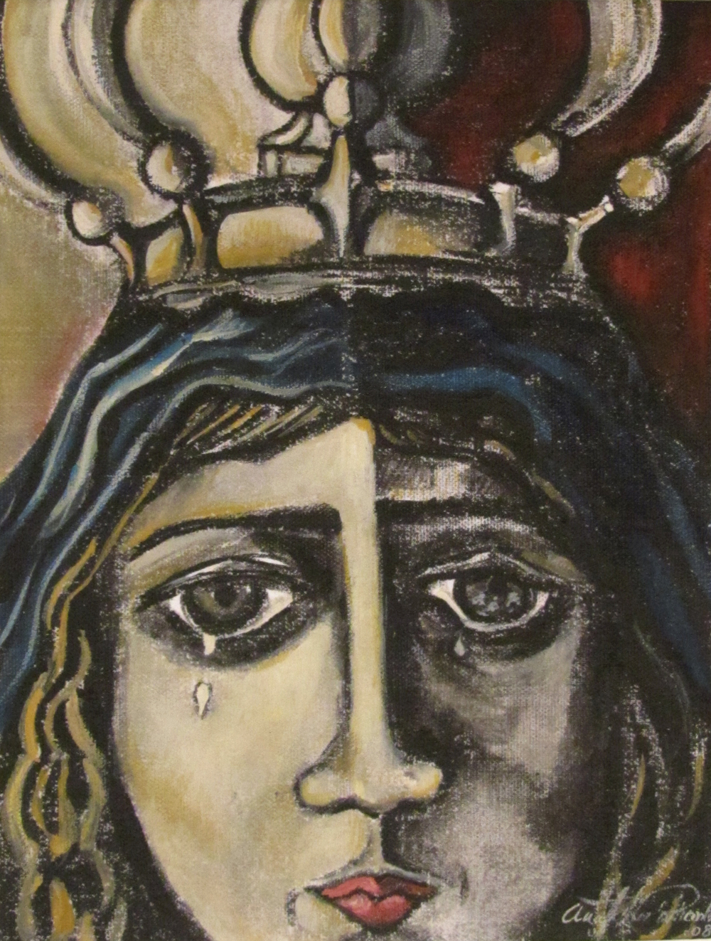 Study for Crowned Virgin